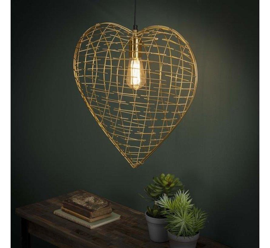 Hängelampe Heart of Gold 1-flammig
