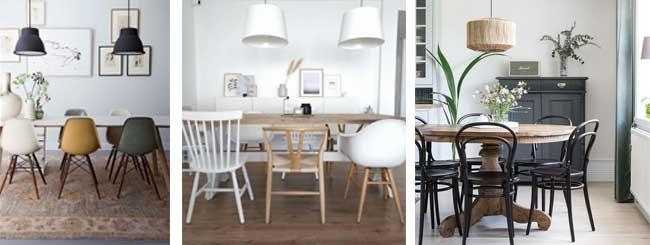 Skandinavische Esszimmerstühle