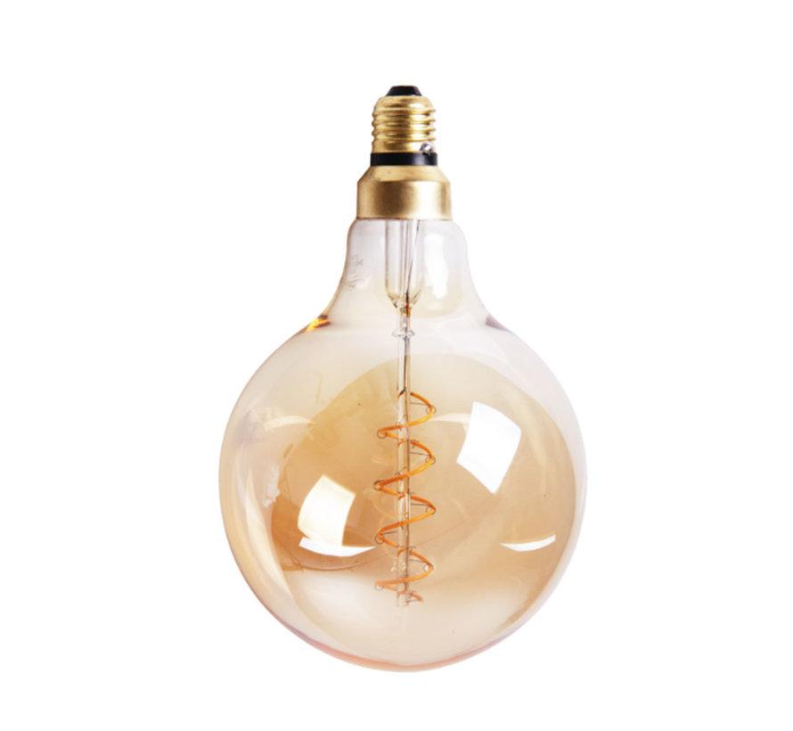 Leuchtmittel LED Ø 9,5 cm gold