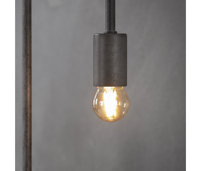 Hängelampe Niklas 5-flammig Metall Industrial Design