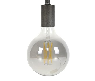 Stehlampe Jace 5-flammig altsilber
