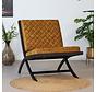 Samt Sessel Madrid Luxury Design ockergelb