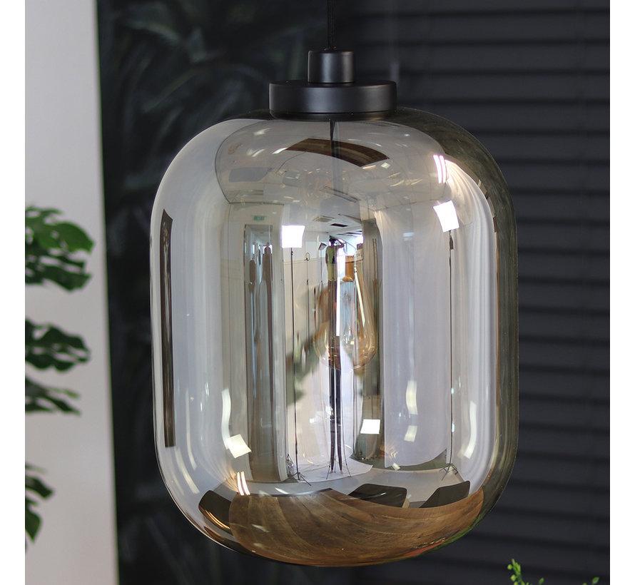 Hängelampe Amber 1-flammig Glas 45cm