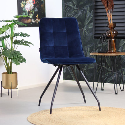 Samt Stuhl