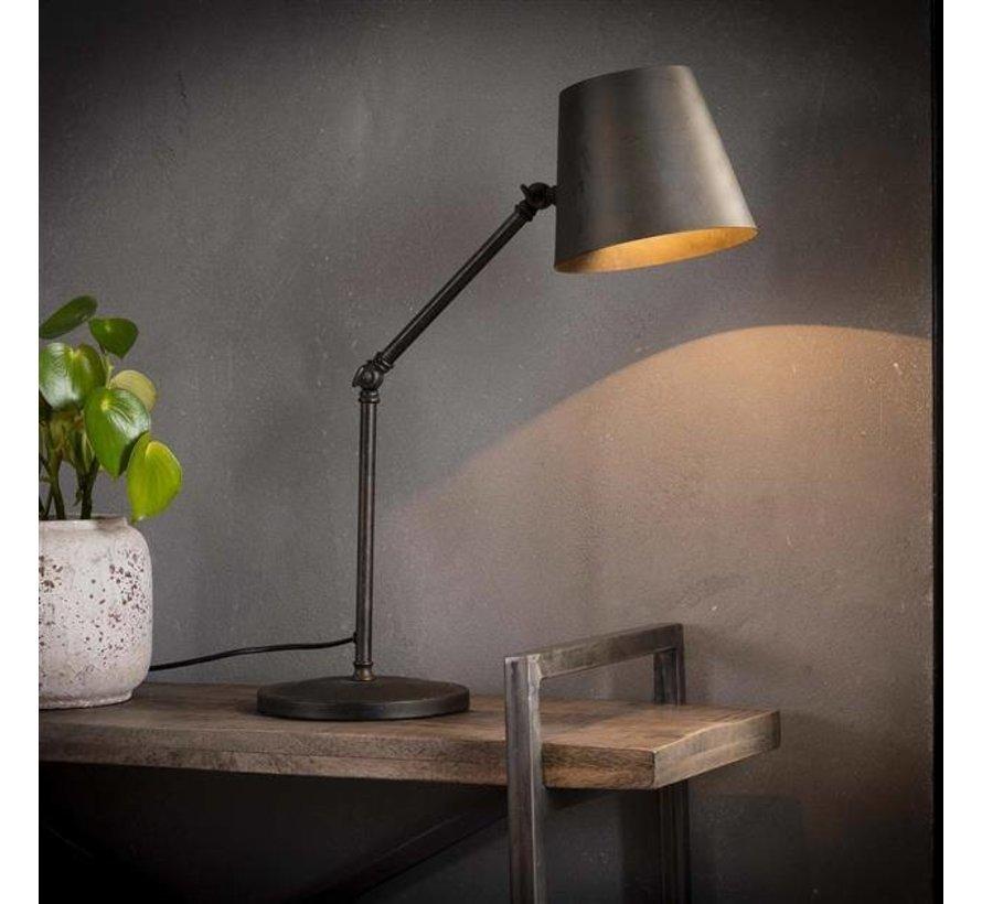 Tischlampe Bruce 1-flammig Metall Industrial Design
