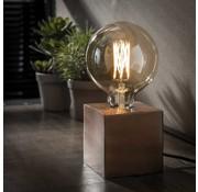 Tischlampe Box 1-flammig Kupfer