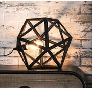 Tischlampe Jase 1-flammig Metall schwarz