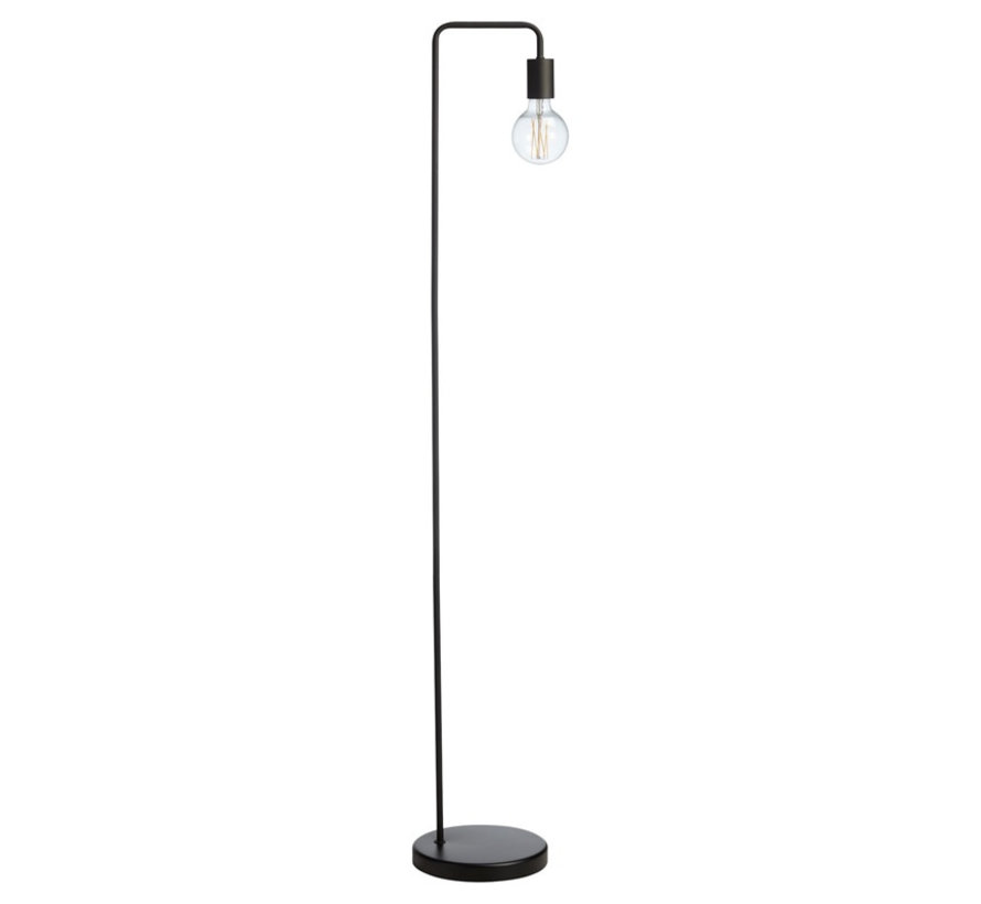 Stehlampe Capri 1-flammig schwarz