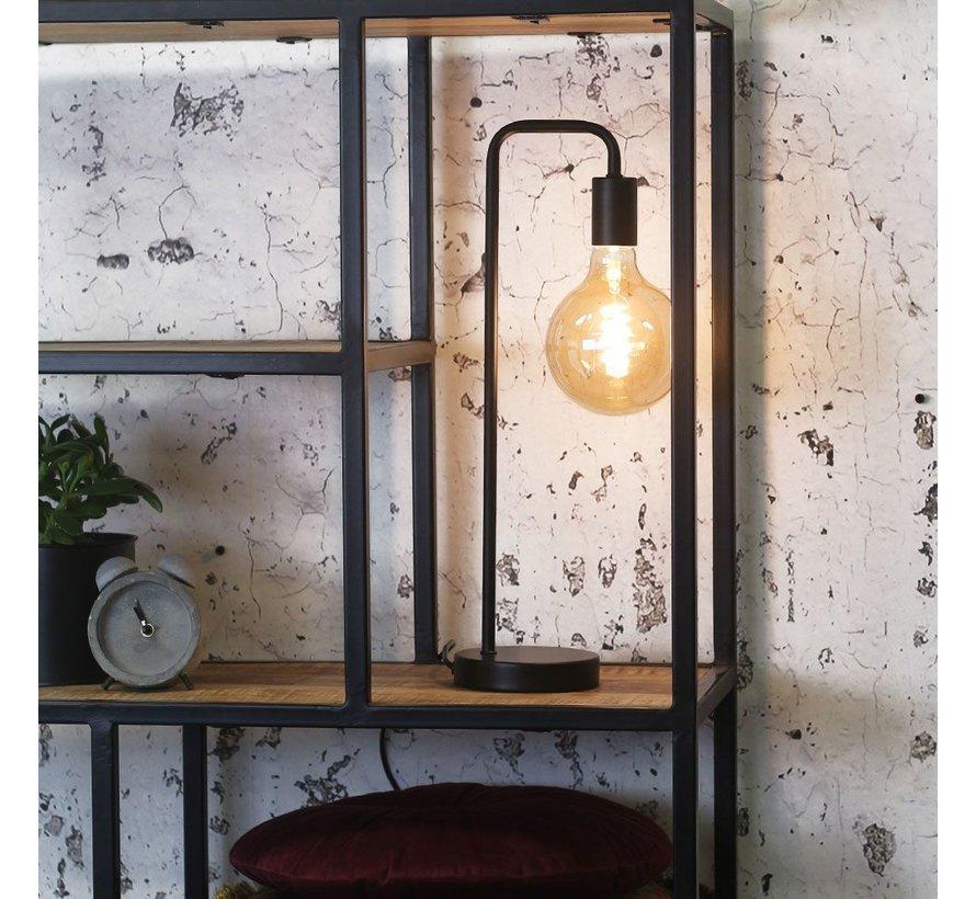 Tischlampe Capri 1-flammig schwarz