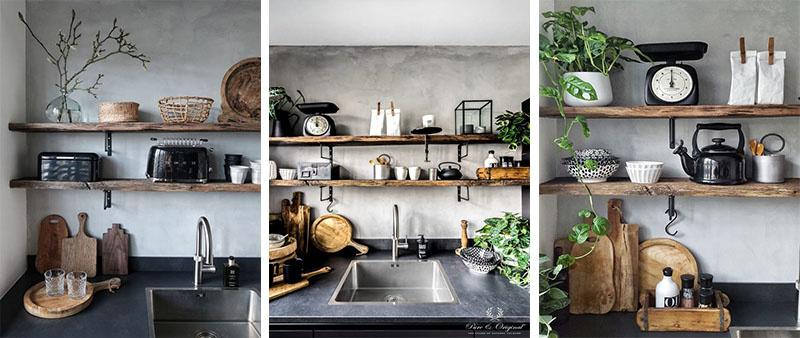 Mangoholz für die Küche