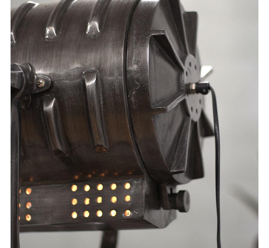 Stehlampe Kristel 1-flammig Dreibein anthrazit