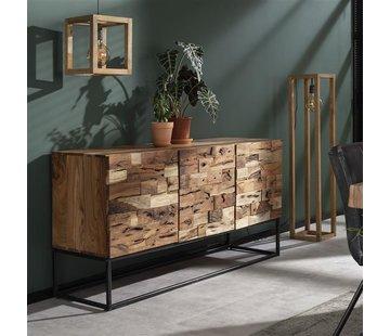 Sideboard Brick Akazienholz 160 x 80 cm