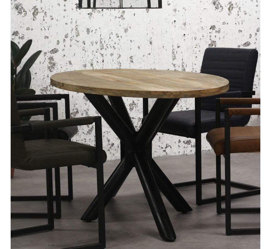 Esstisch oval Tygo Mangoholz 200x110 cm