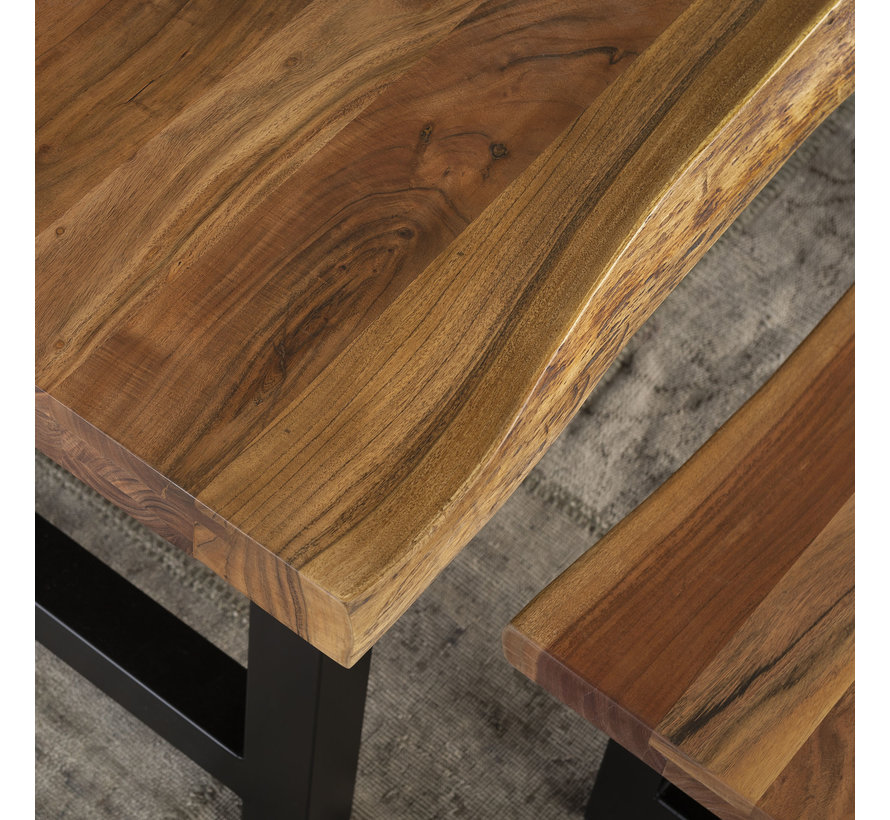 Esszimmertisch Timber Akazienholz 200 x 100 cm