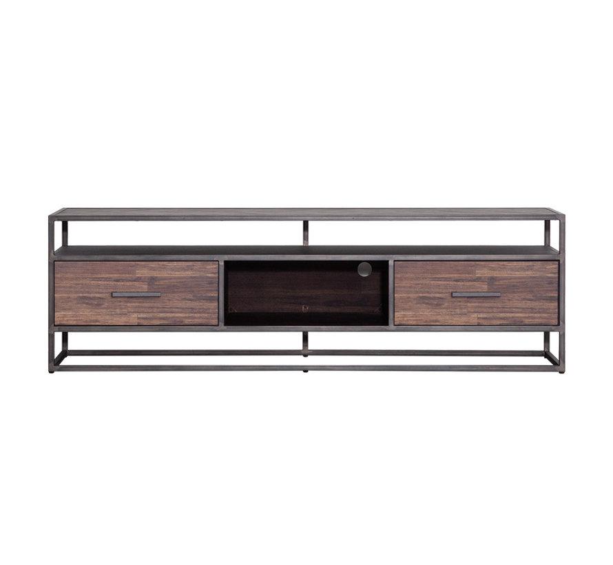 TV-Lowboard Hudson Akazienholz braun 185 cm