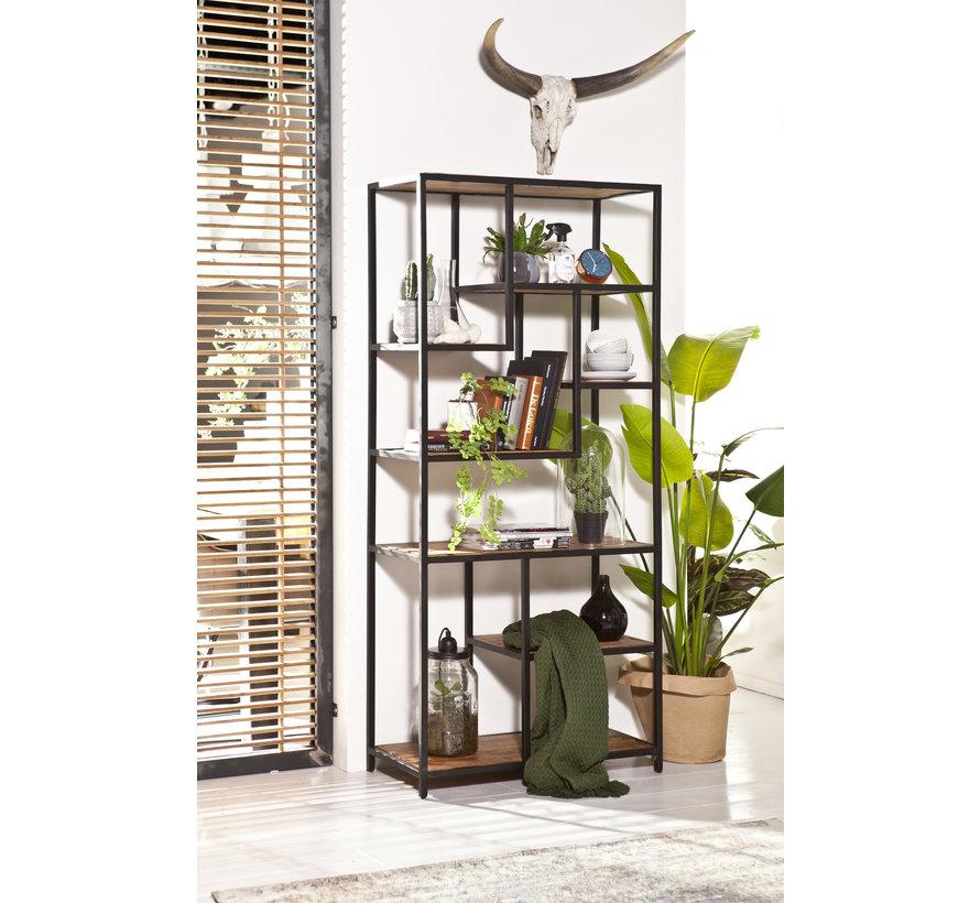 Bücherregal Soho Mangoholz 180 cm