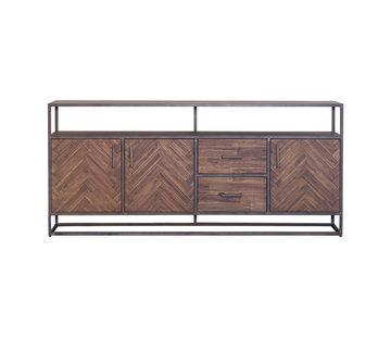 Eleonora Sideboard Hudson Akazienholz braun 200 cm