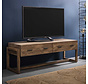 TV-Lowboard Gabi Mangoholz 2 Schubladen 135 cm