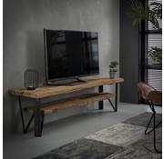 TV-Lowboard Nova Hartholz 160x40