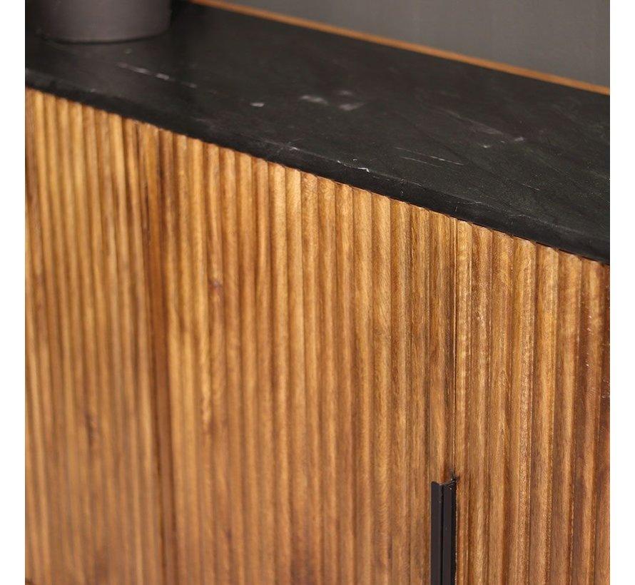 Sideboard Carter Mangoholz 4-türig 191 cm