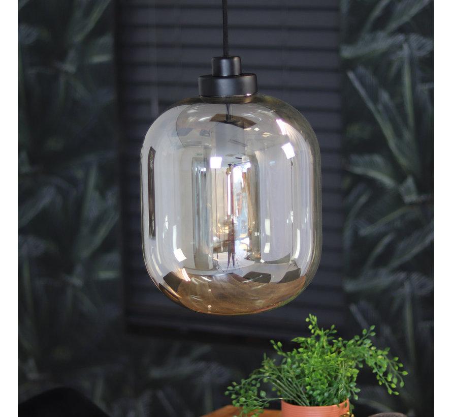 Hängelampe Amber 1-flammig Glas 30cm