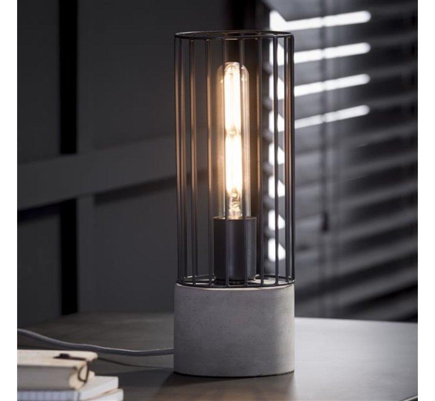 Tischlampe Anthony 1-flammig Beton