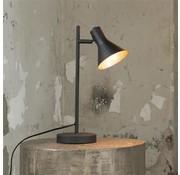 Tischlampe James 1-flammig schwarz/gold
