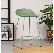 Barhocker Ellen skandinavisches Design grün 66 cm