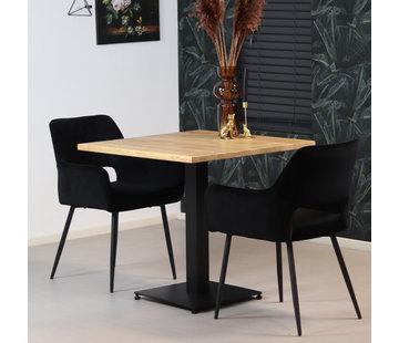 Bronx71 Esszimmertisch Sven Eichenholz 80 x 80 cm