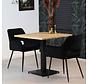 Esszimmertisch Sven Eichenholz 80 x 80 cm
