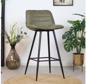 Bronx71 Barhocker Leder Jackson olivgrün 73 cm
