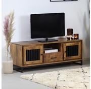 Bronx71 TV Lowboard Willis Mangoholz 135 cm