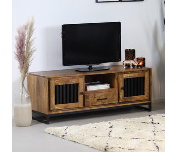 Bronx71 TV-Lowboard Willis Mangoholz 135 cm