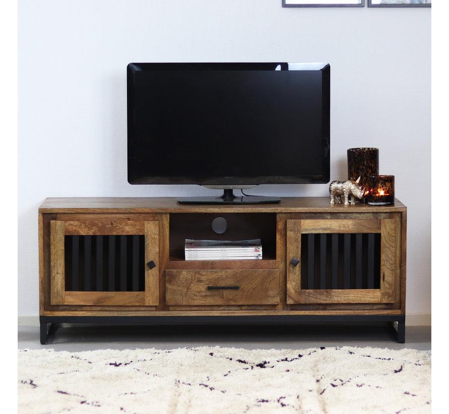 TV-Lowboard Willis Mangoholz 135 cm