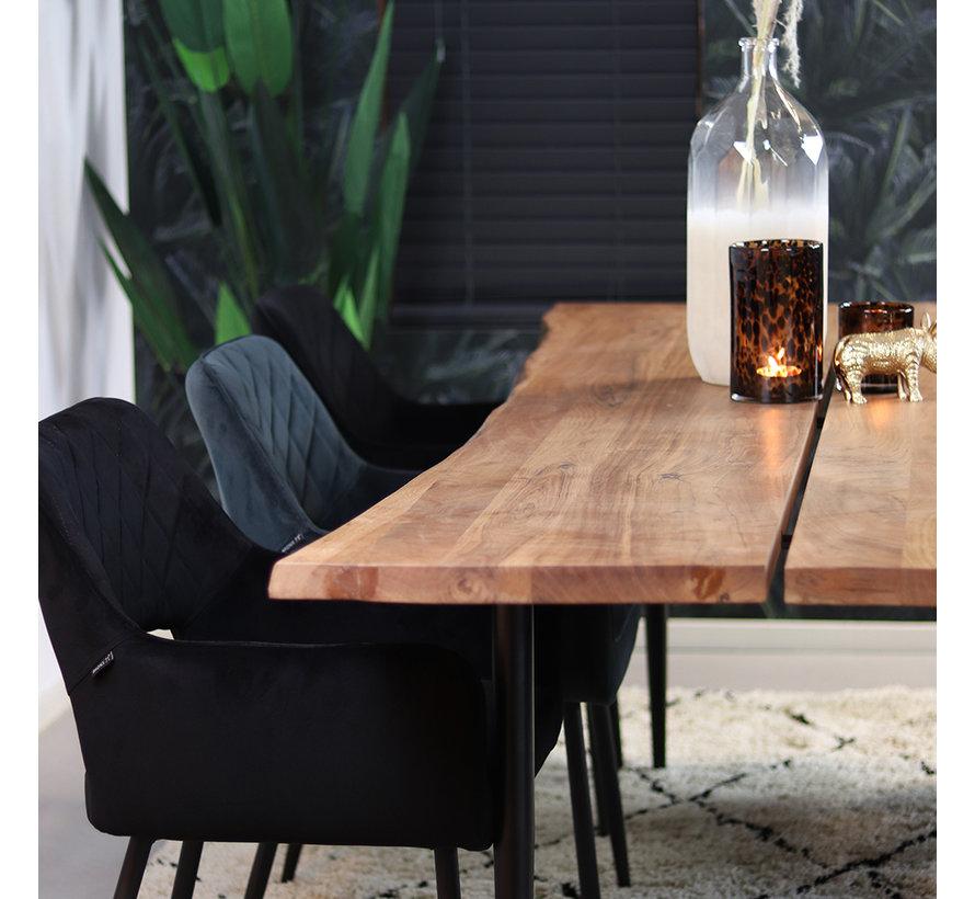 Esstisch Baumstamm Richy Akazie 230 x 100 cm