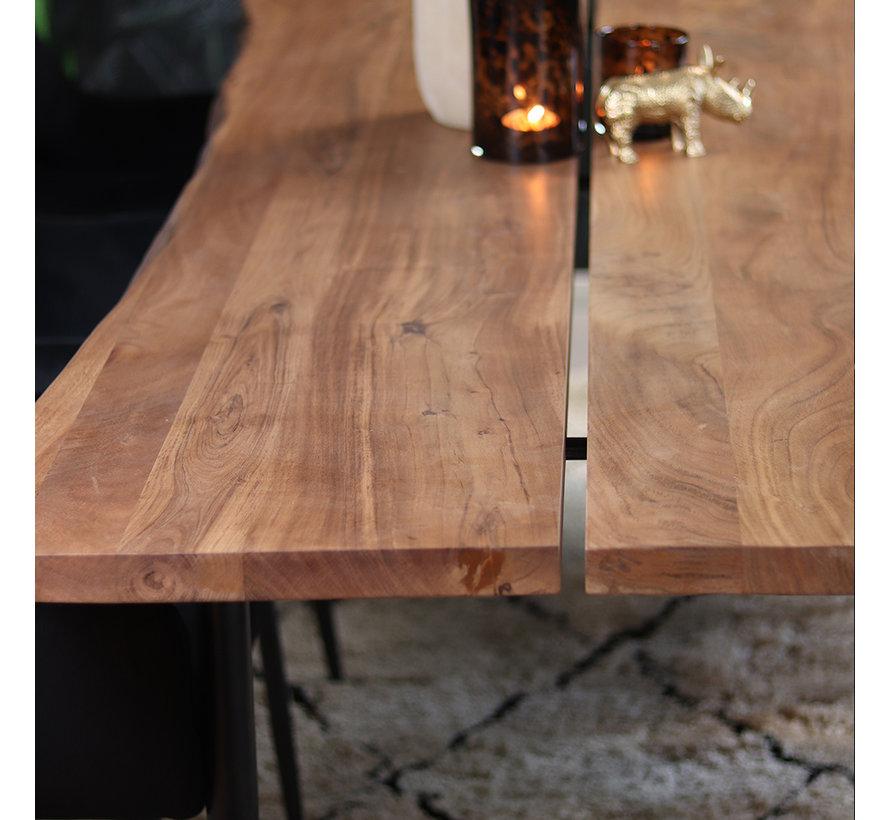 Esstisch Baumstamm Richy Akazie 140 x 80 cm