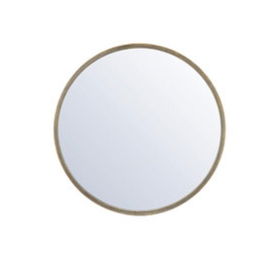 Design Spiegel Ceto Metall ø60 cm gold