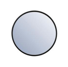 Design Spiegel Ceto Metall ø80 cm schwarz
