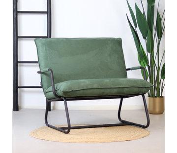 Bronx71 Sessel Ohio mit Armlehne Polyester grün