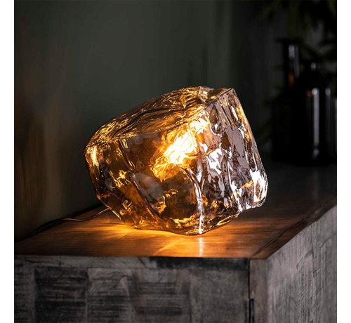 Tischlampe Angel 1-flammig Glas