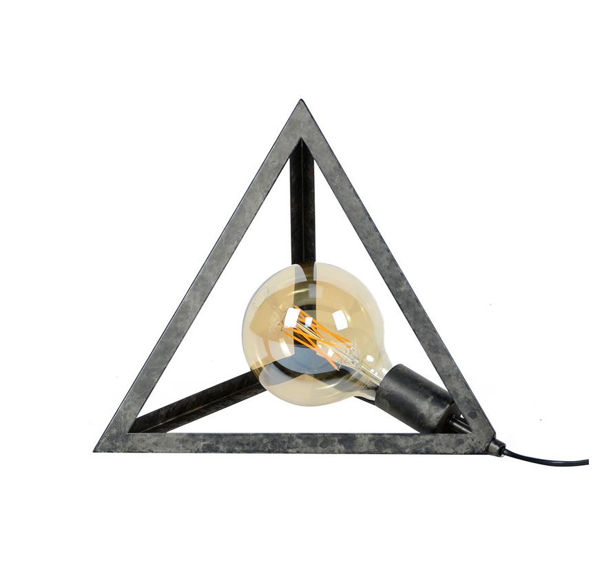 Tischlampe Peter 1-flammig Nickel