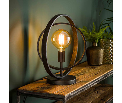 Tischlampe Rotate 1-flammig charcoal
