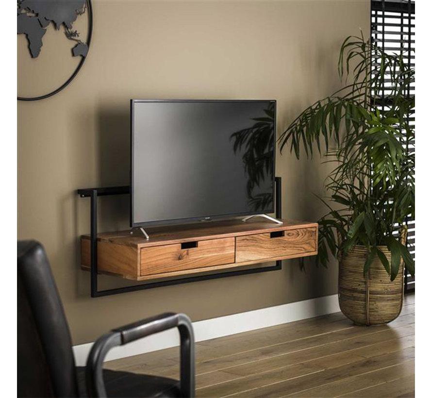 TV-Lowboard Pim Akazienholz 120 cm