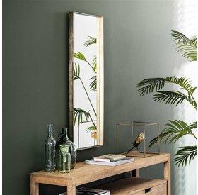 Wandspiegel Angela gold 40 x 100 cm