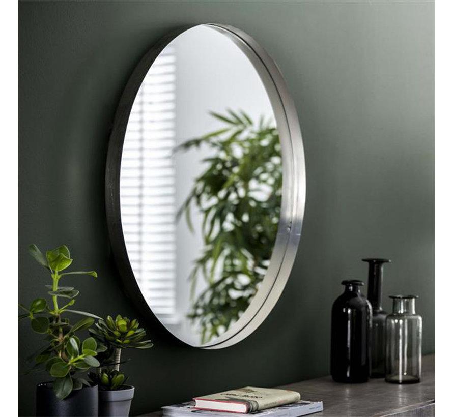 Design Spiegel June rund Ø75 cm Silber