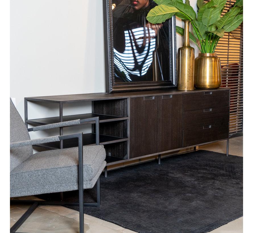 Sideboard Madison Dark Akazienholz 220 cm