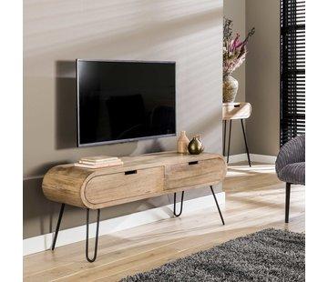 TV-Lowboard Merlin Mangoholz 135 cm