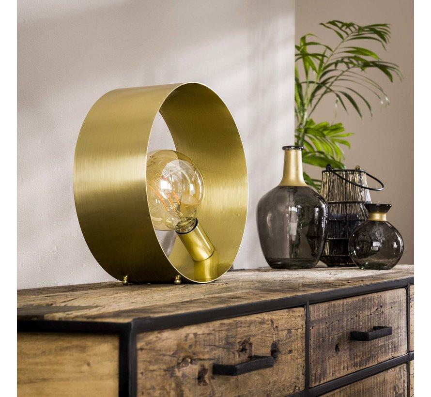 Tischlampe Till 1-flammig gold