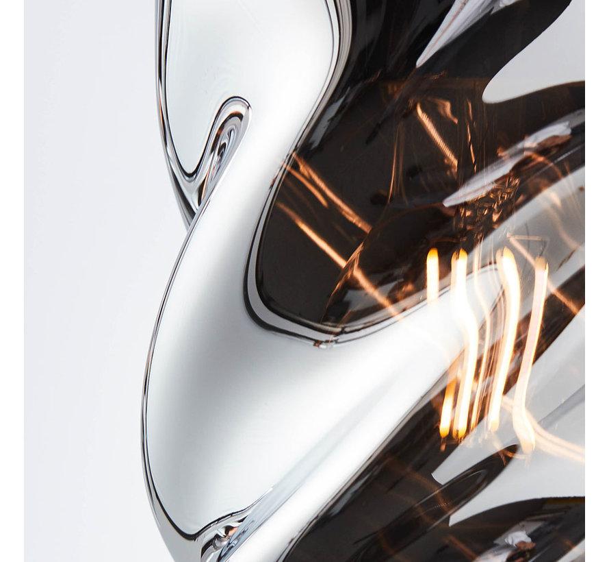 Hängelampe Spin 3-flammig chrome