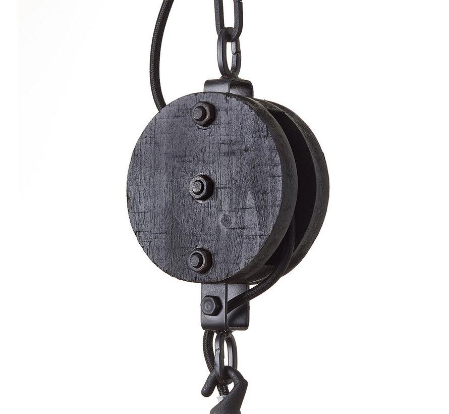 Hängelampe Lea 1-flammig Holz ø47 cm
